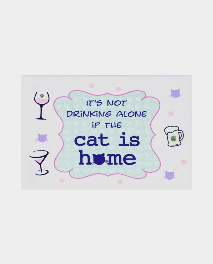 drinking alone - cat