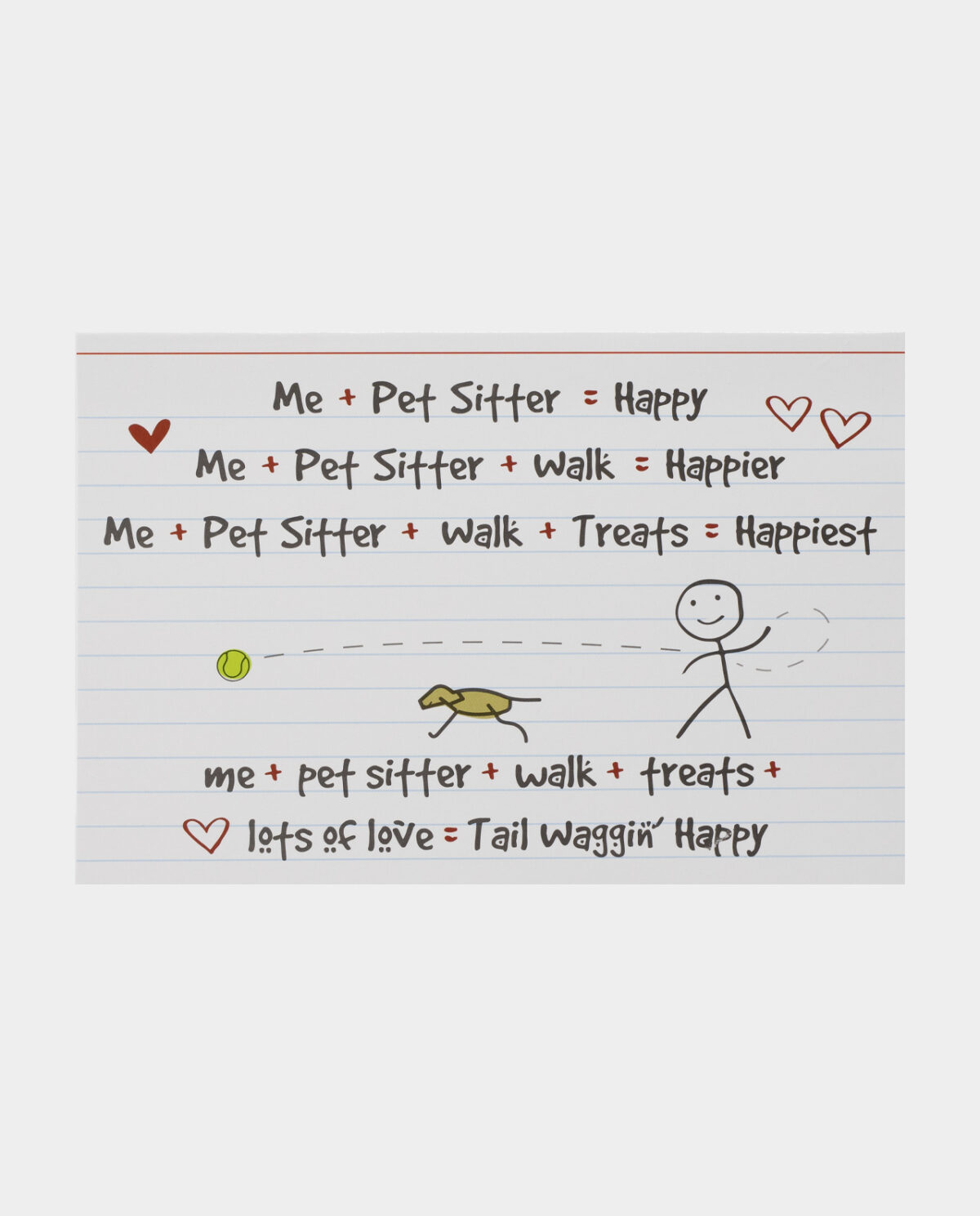 Me + Pet Sitter = Happy