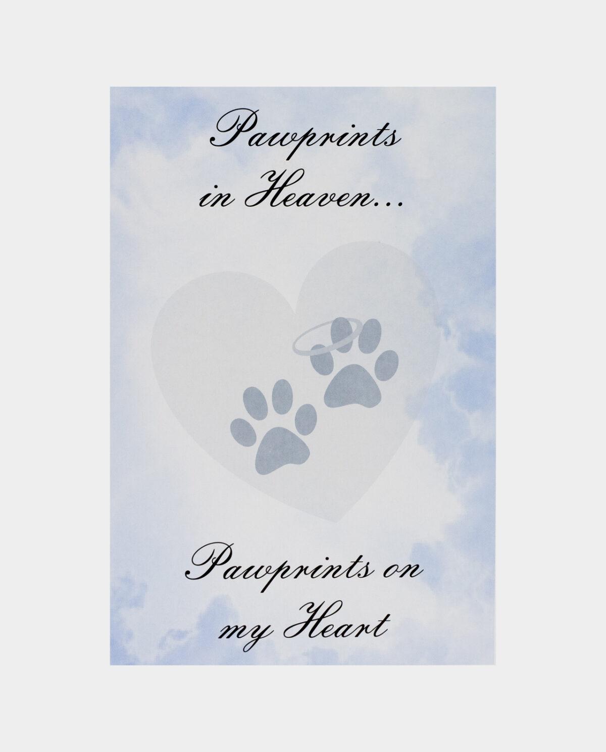 Pawprints in Heaven