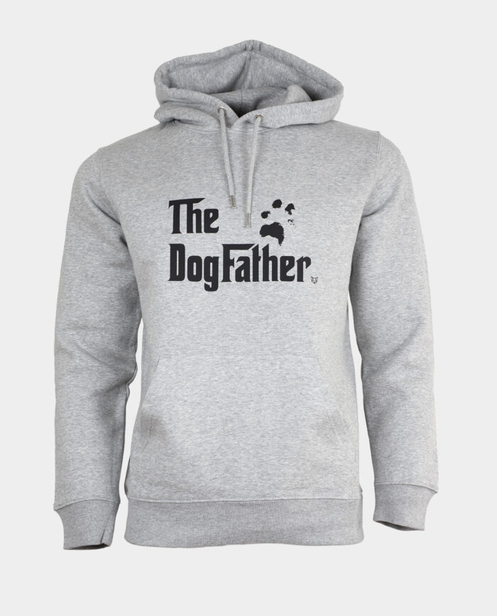 The DogFather Hoodie Grey