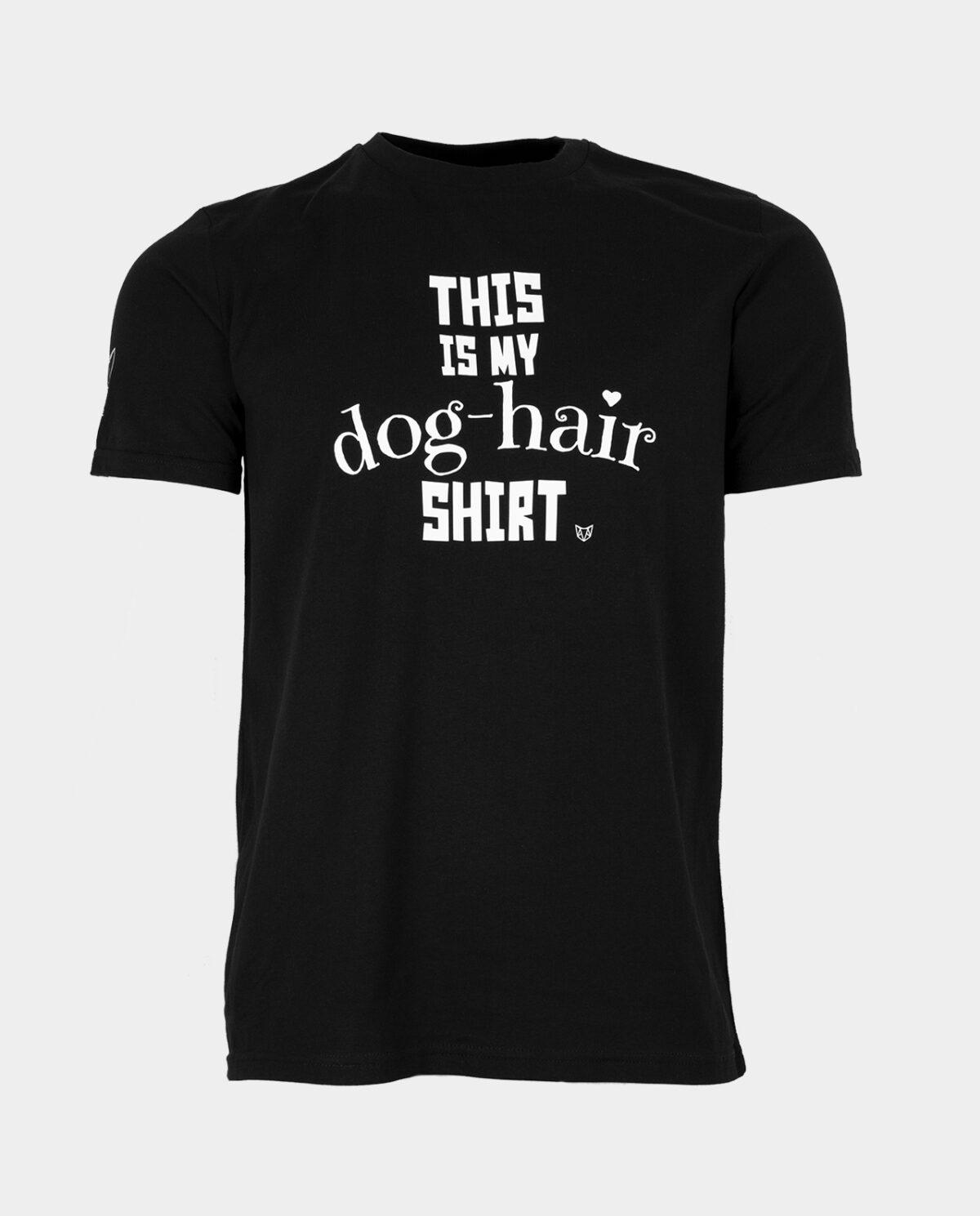 This Is My Dog Hair Shirt Black