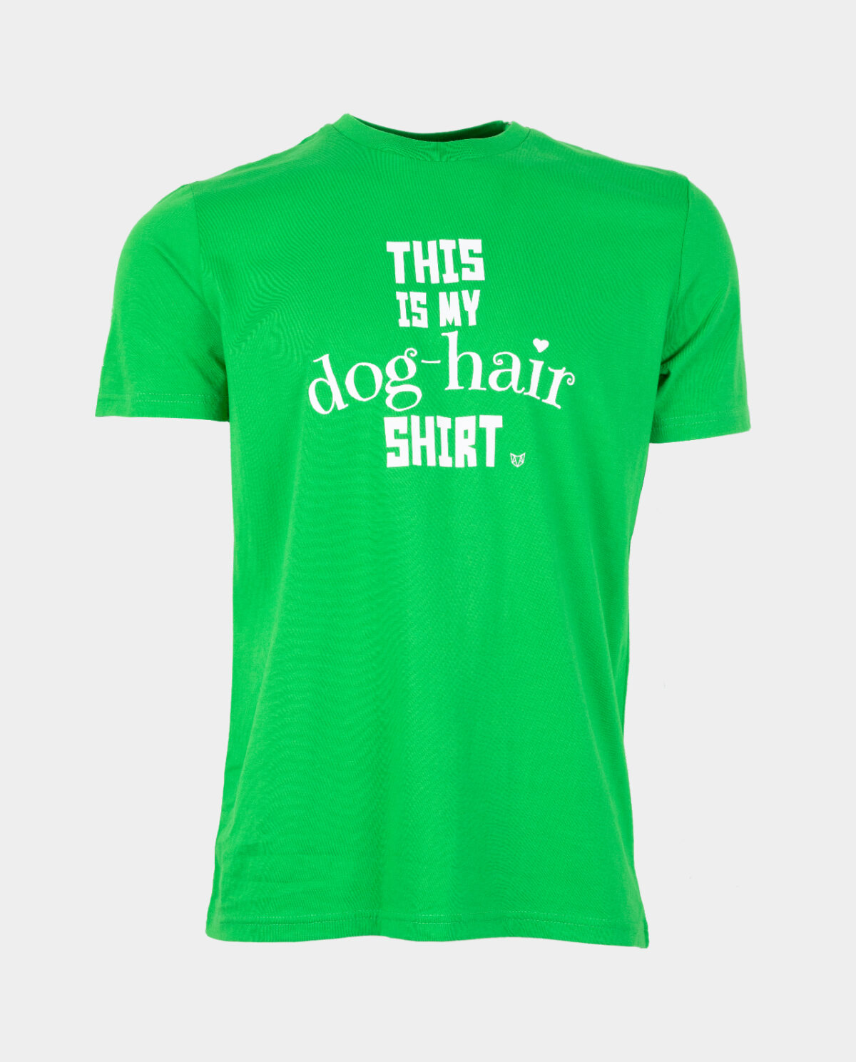 This Is My Dog Hair Shirt Green