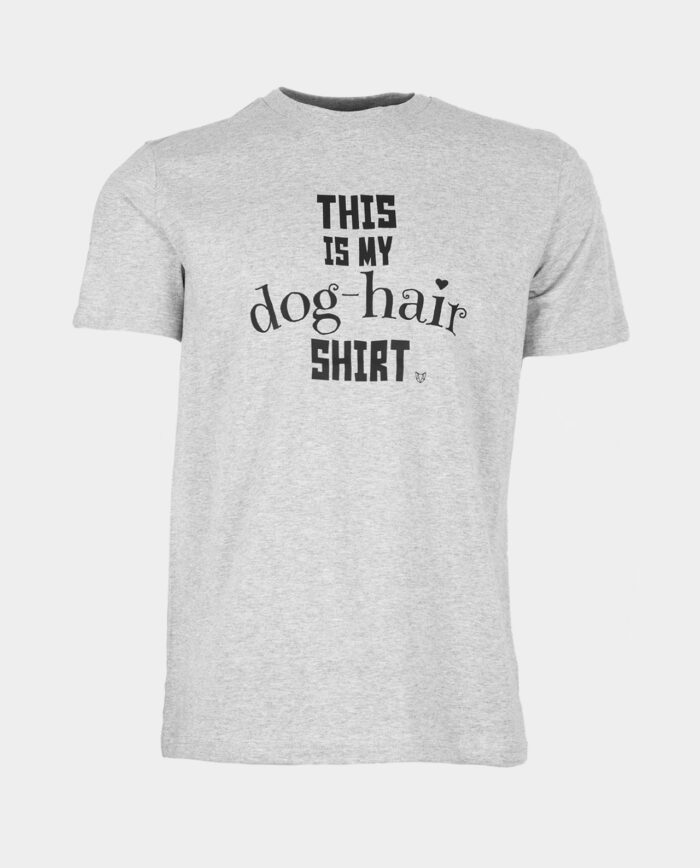 This Is My Dog Hair Shirt Grey