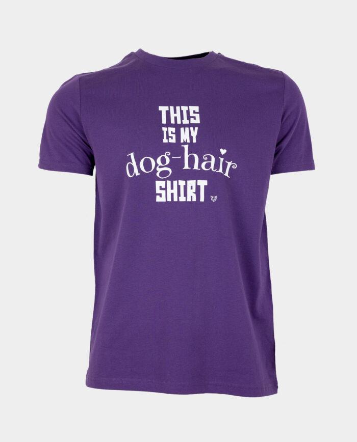 This Is My Dog Hair Shirt Purple