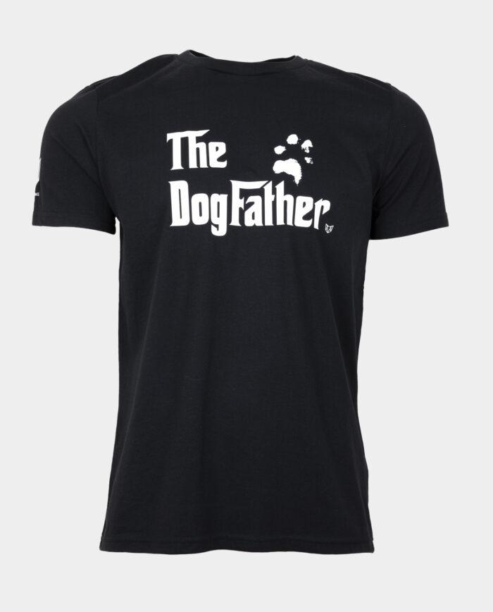 The Dogfather tshirt black
