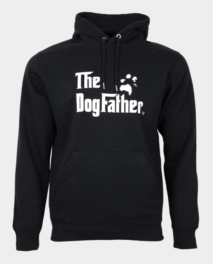 The Dogfather Hoodie Black