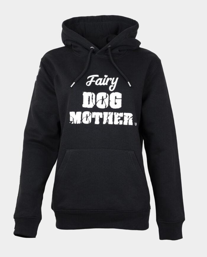 Fairy Dog Mother Black hoodie